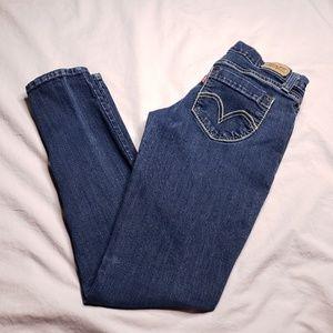 Levi's 524 Too Superlow Skinny Jeans Dark Wash